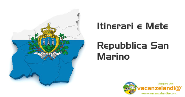 cartina rep san Marino