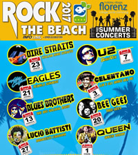 rock the beach 200s