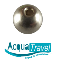 acqua travel silver globe 200s
