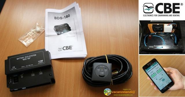 bds 180 cbe deviatore batterie camper